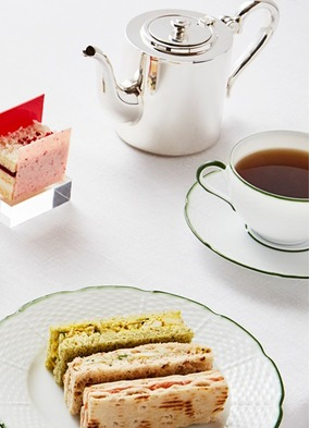 Art afternoon tea at Rosewood London