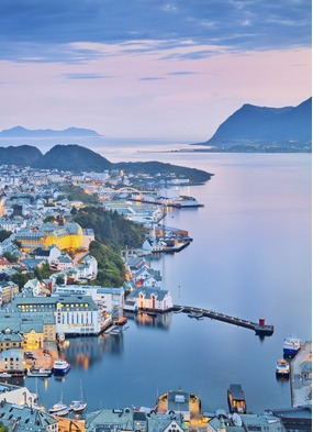 Alesund, a highlight of cruising the Norwegian Fjords