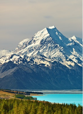 New Zealand expedition cruise guide: Mount Cook, Pukaki Lake