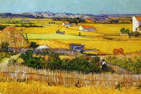 Van Gogh - Harvest at Arles