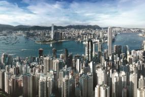View across Hong Kong