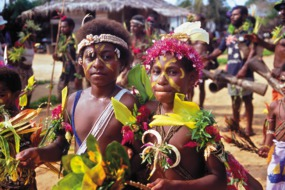 People in Papua New Guinea