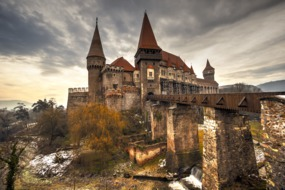 Corvinesti Castle, Transylvania