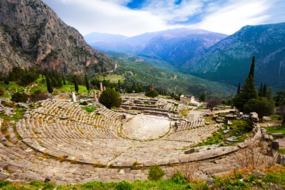 Amphitheatre at Delphi, Greece