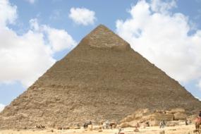 Pyramid of Chephren, Cairo