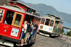 Cable cars, San Francisco